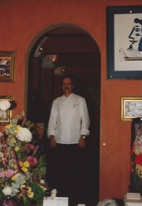Ulrich in Guadalajara for the opening of Cafe Picasso