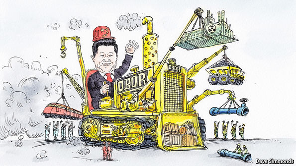 Clever China reaches out, strengthen influence on the African continent and Europe