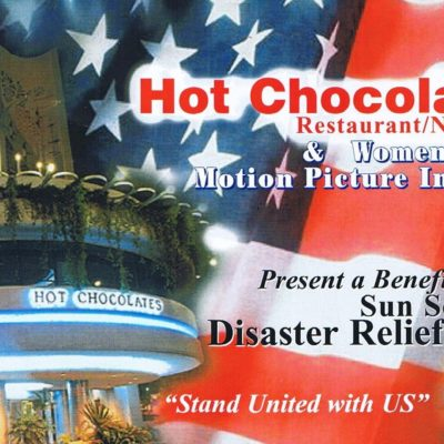911 Benefit Event at Hot Chocolates